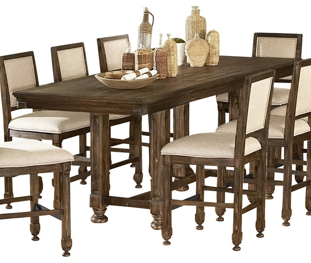 Homelegance Ardenwood 9-Piece Counter Height Dining Room