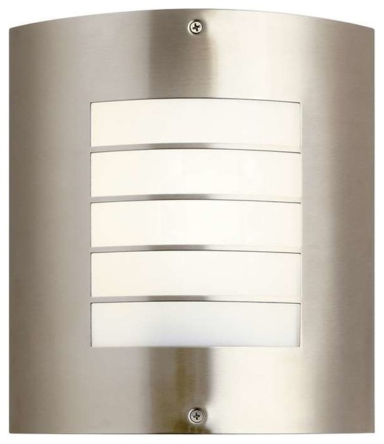 Large Modern Wall Lights : Kichler Lighting 10640AZ Newport Contemporary Outdoor Wall Light - Large - Contemporary ...