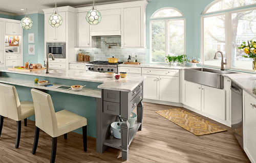 KraftMaid's new EverCore technology super-compresses wood fibers for extra solid drawers and ...