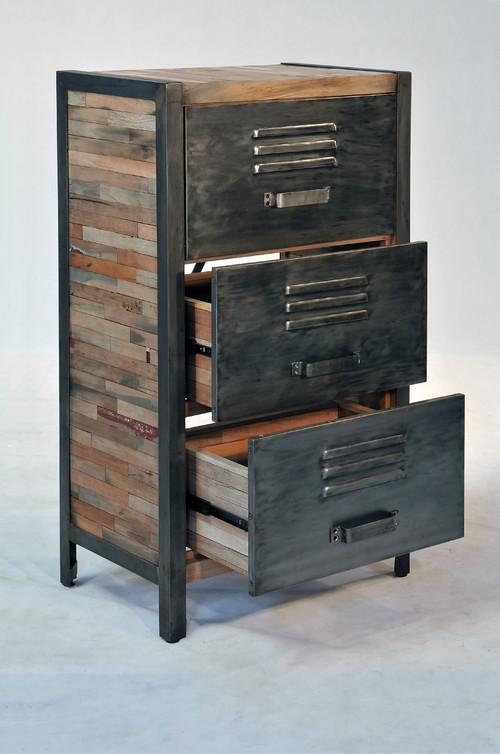 Incroyable Is The Industrial / Locker Room Style 3 Drawer, 2 Cabinet Available?