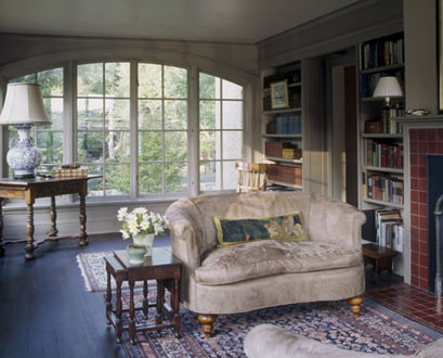 Austin Patterson Disston Architects traditional living room