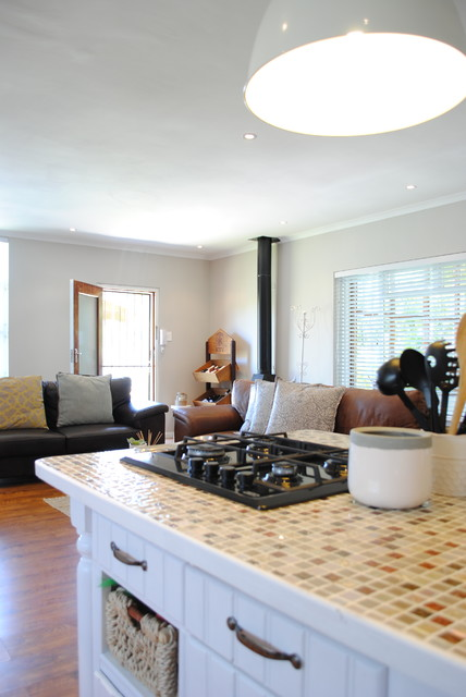 Mid-sized eclectic home design photo in Other