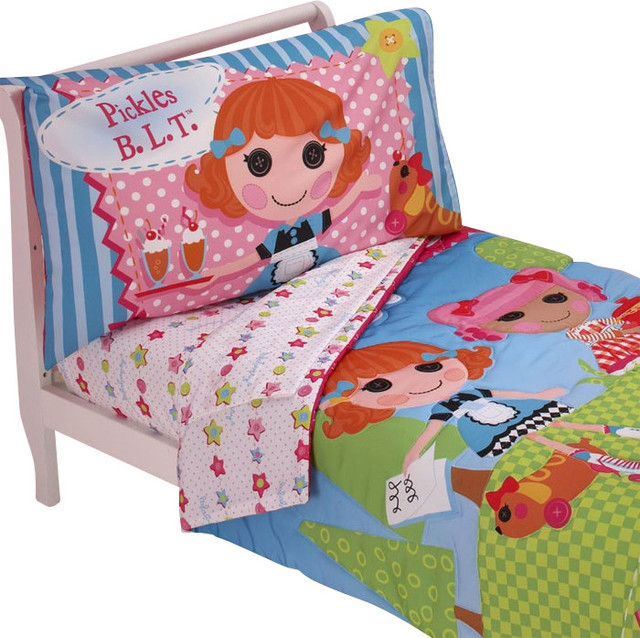 Lalaloopsy Toddler Bedding Set One Kind Comforter Sheets Contemporary  Toddler Bedding