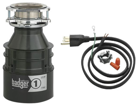 Badger 1 1 3 Hp Continuous Feed Garbage Disposal