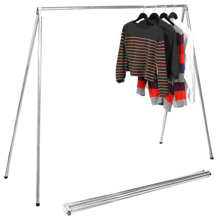 Fol-D-Rak Folding Garment Rack