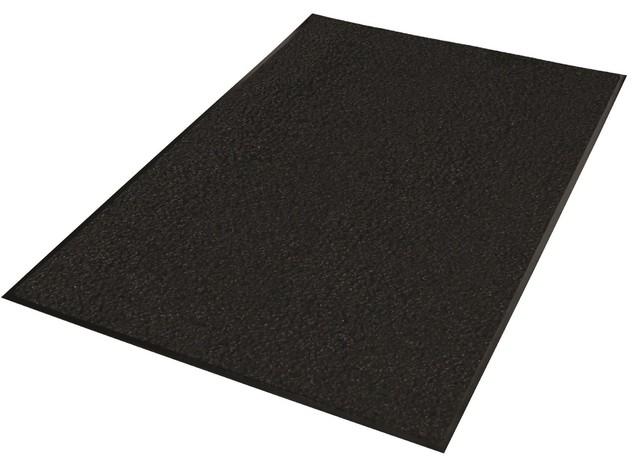 Guardian Platinum Series Indoor Wiper Floor Mat, 2u0027x2u0027, Black Transitional