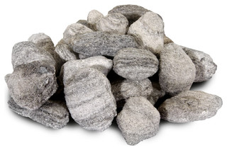 "5 lb. Bags of 2"" Gravel, Mixed Gray, Mixed Gray, Single Bag"