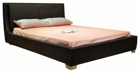 Greatime Eastern King Black Platform Bed.