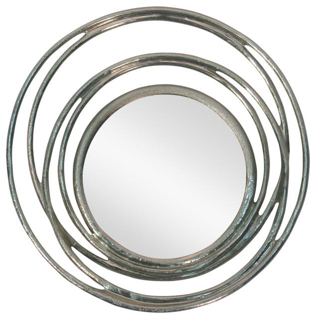 Ringlet Mirror, Silver