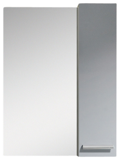 Fine Fixtures Atwood Mirror with Side Cabinet - Contemporary - Medicine Cabinets - Other - by ...