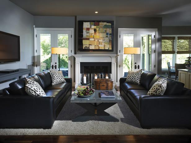 Designer Living Family Rooms