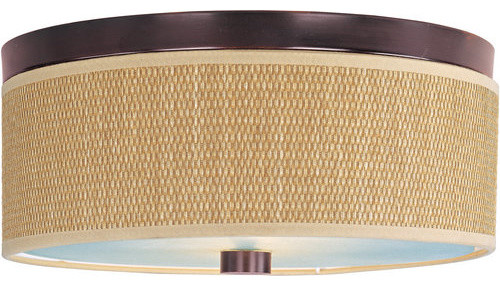 Et2 E95002-101 Elements 2 Light Flush Mount Indoor Ceiling Fixture.