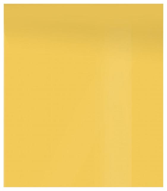 Yellow ground glass splashback contemporary kitchen for Dayroom yellow bedroom