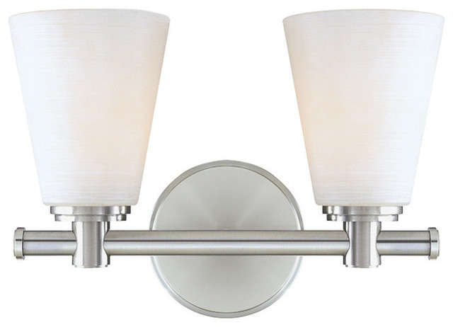 Hampton Bay 2 Light Chrome Bath Light 05659: Hudson Valley Garland 2 Light Bath Bracket, Polished