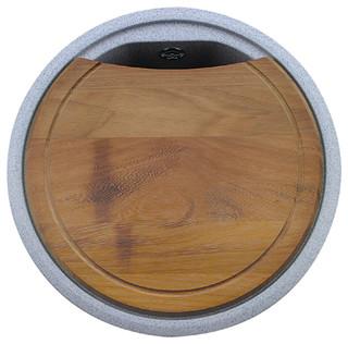 Round Wood Cutting Board Modern Cutting Boards By