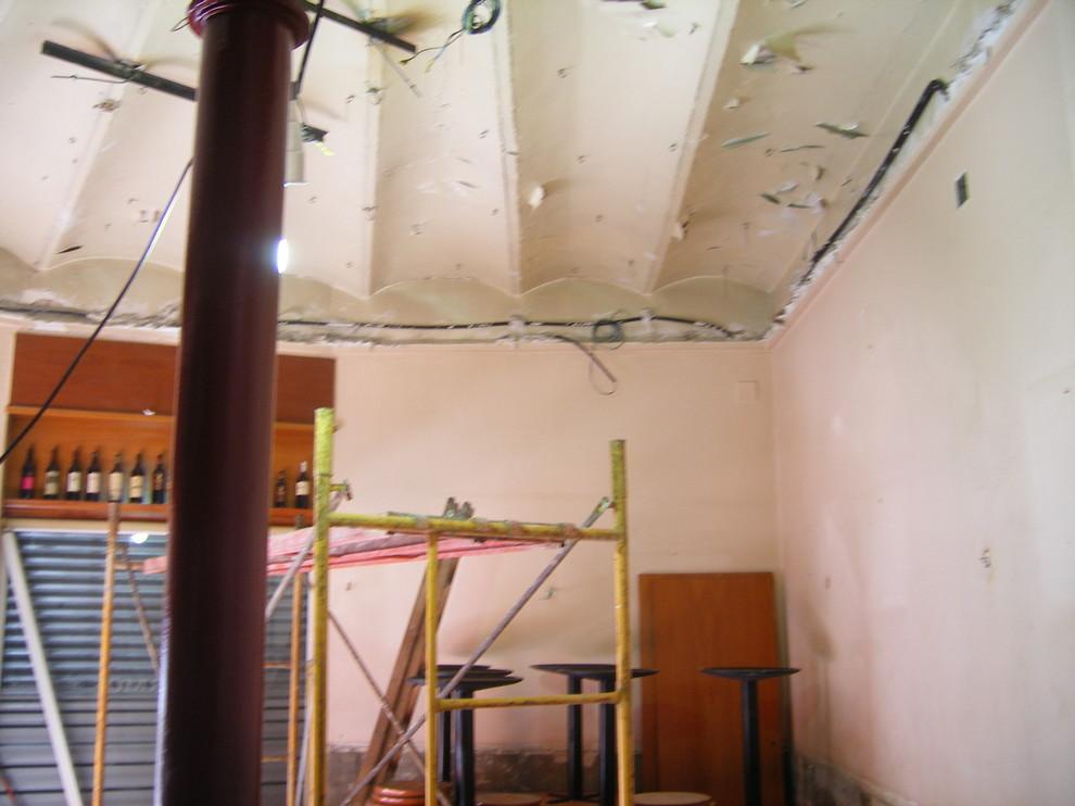 Derribo falso techo