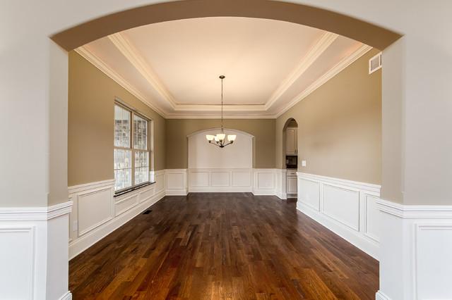 Home design - transitional home design idea in Columbus