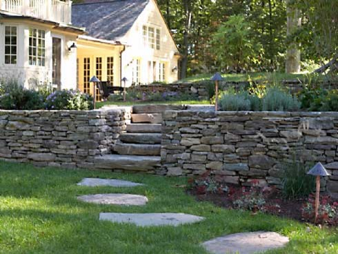 Old Moss retaining wall