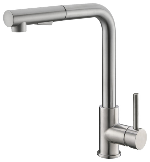 STYLISH Pull Down Stainless Steel Kitchen Faucet K-130S