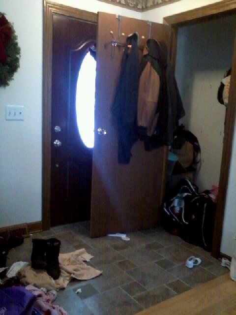 Entryway Closet Door Or No Door