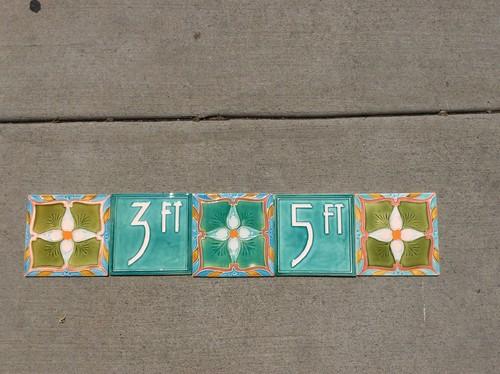 Pool depth marker tiles tile design ideas for Swimming pool depth marker tiles