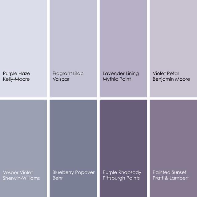 Dreaming In Color 8 Enchanting Purple Bedrooms