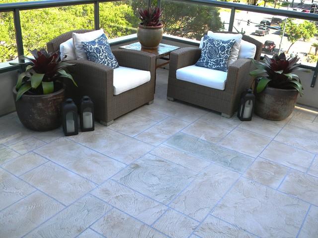 Condo lanai for Lanai flooring options