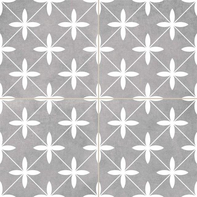 Oakham Grey Scored Tiles, 1 m2