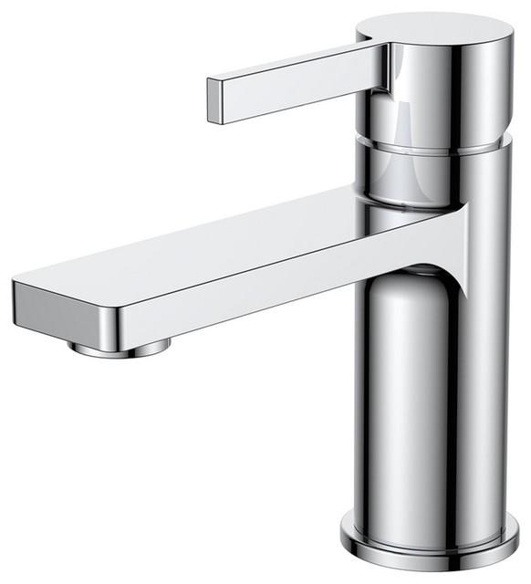 Aqua Sotto Single Lever Bathroom Vanity Faucet - Contemporary ...