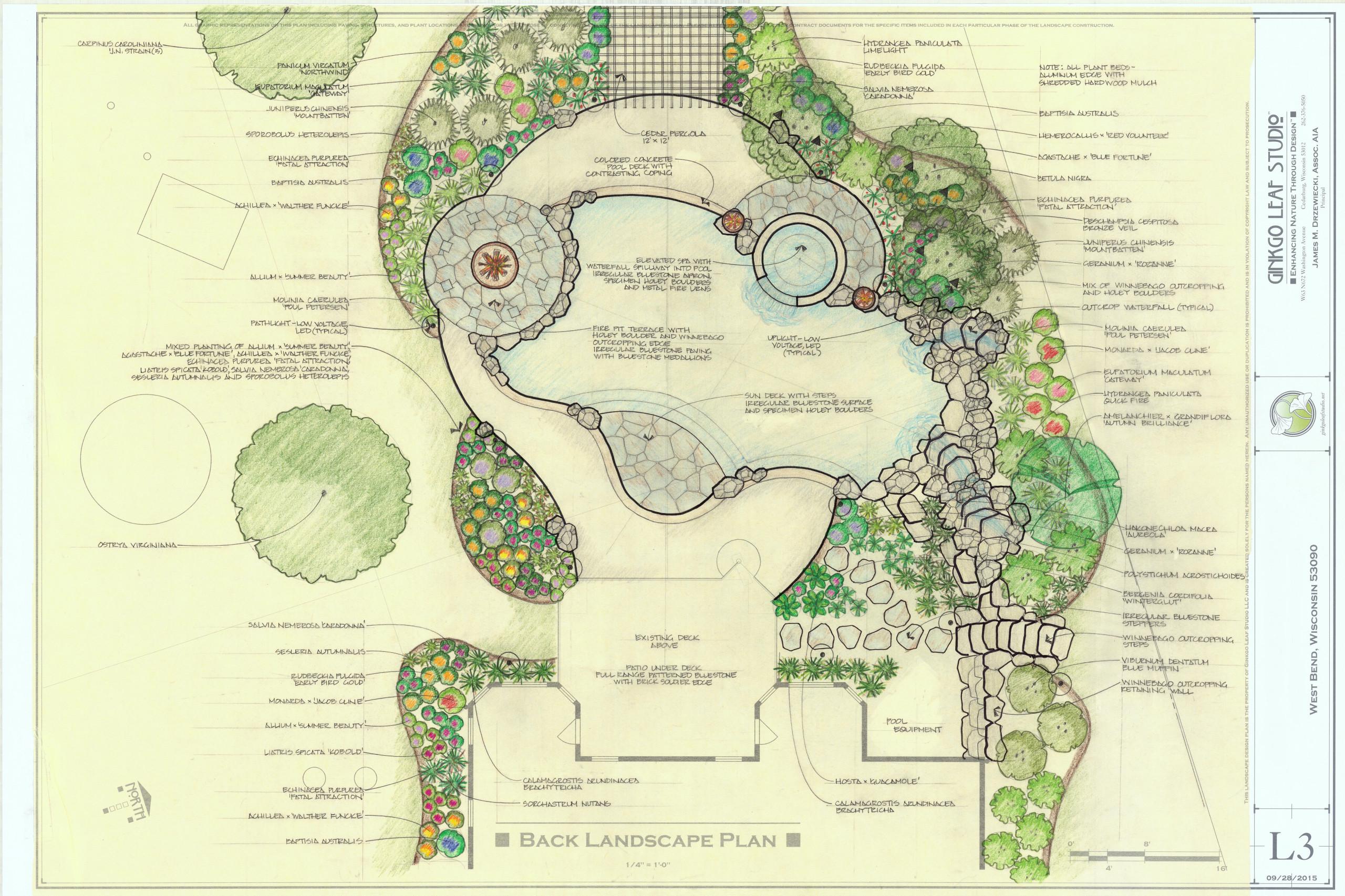 Transitional Pool & Landscape - West Bend