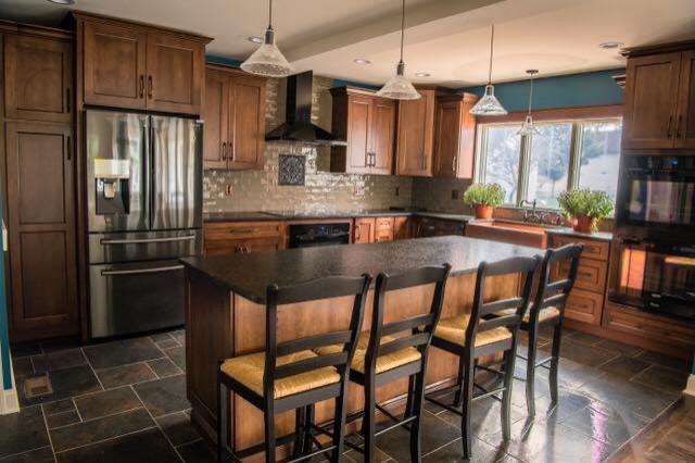 Princeton Renovated Farmhouse Kitchen