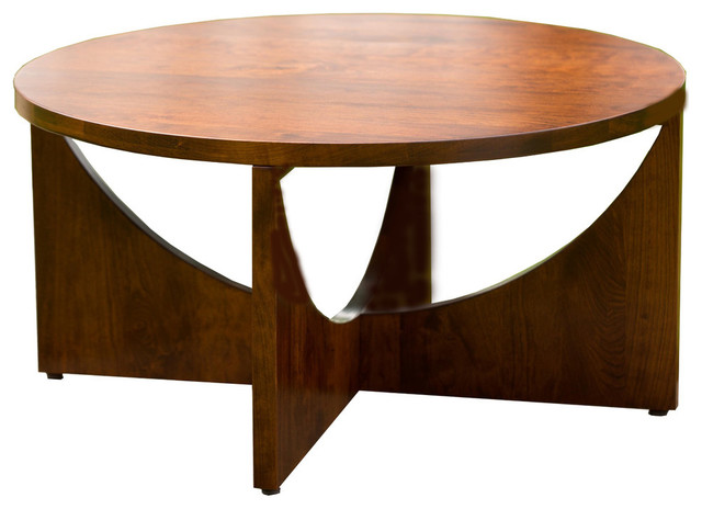 Standard Finish Sedona Coffee Table, Rustic Cherry.