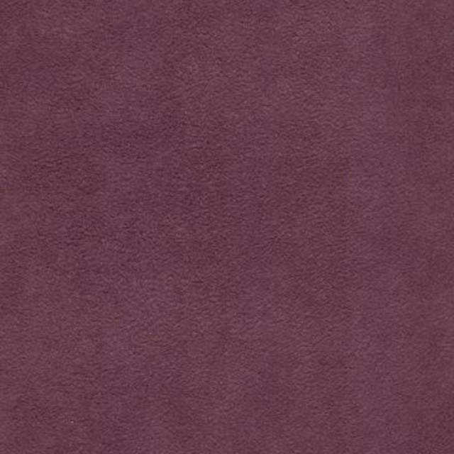 Aubergine Purple Solid Suede Upholstery Fabric