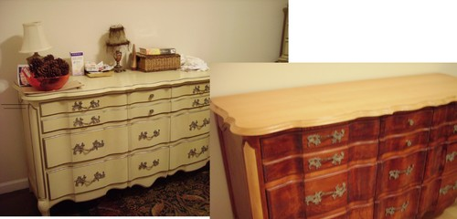 From Old French Provincial Bedroom Furniture To A New Look