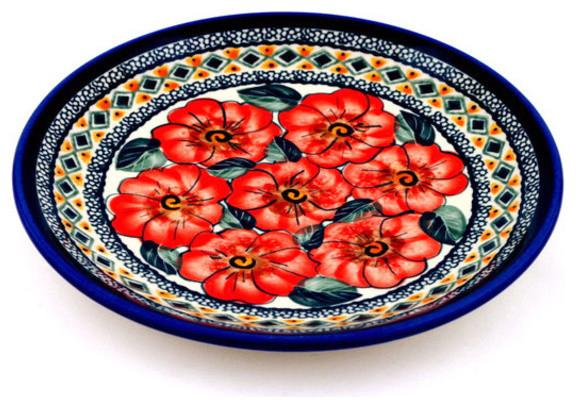 Polmedia Polish Pottery 7quot Stoneware Plate Farmhouse  : farmhouse dinner plates from www.houzz.com size 576 x 408 jpeg 119kB