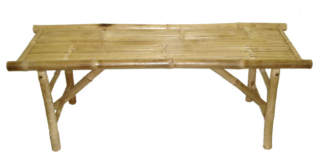 Chair Bamboo Bench