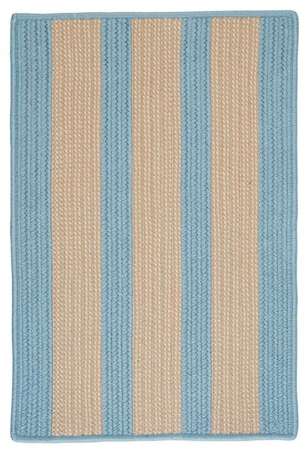 Boat House Rug Light Blue Beach Style Outdoor Rugs