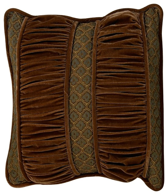 Pleated Pillow - Traditional - Decorative Pillows - by HiEnd Accents
