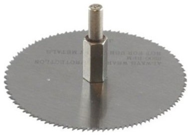 3 Wood Saw Blade, For Use With Drill.