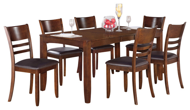 Lyfd7 Kitchen Table Set Transitional Dining Sets By Dinette4less