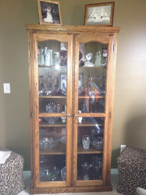 Need help updating cabinet
