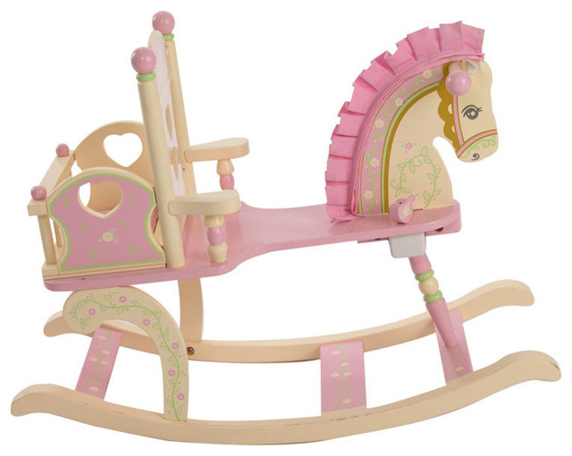 Rocking Horse Contemporary Baby And Toddler Toys by