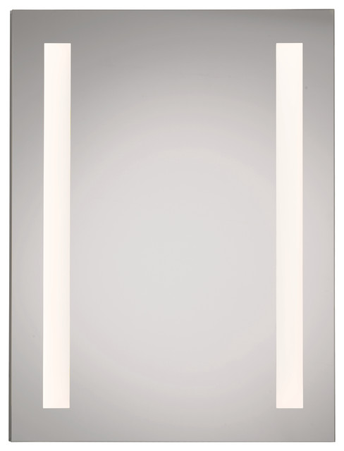 Illume Led Backlit Medicine Cabinet, Hinge: Left.
