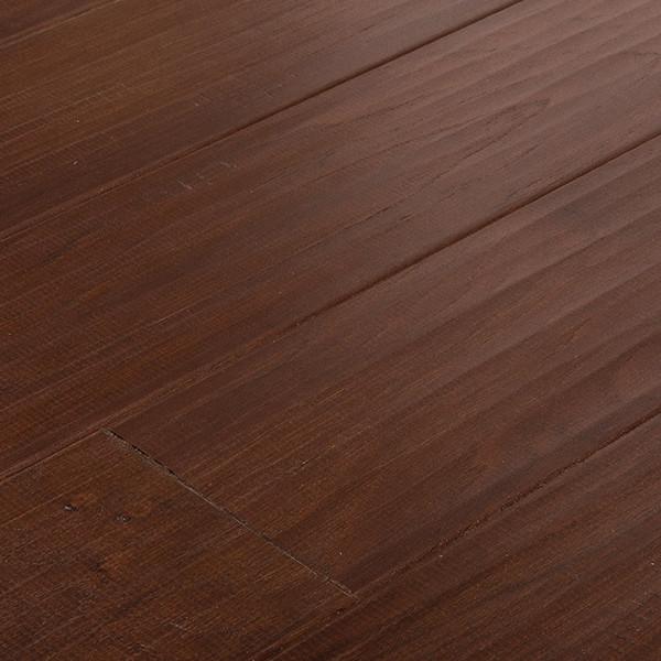 Mohawk Hickory Chocolate Click Engineered Hardwood Flooring Sample  Contemporary Engineered Wood Flooring
