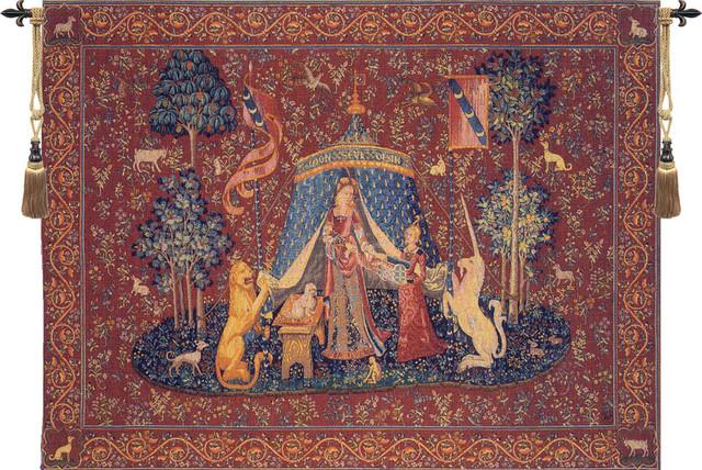 A Mon Seul Desir I European Tapestry Wall hanging ...