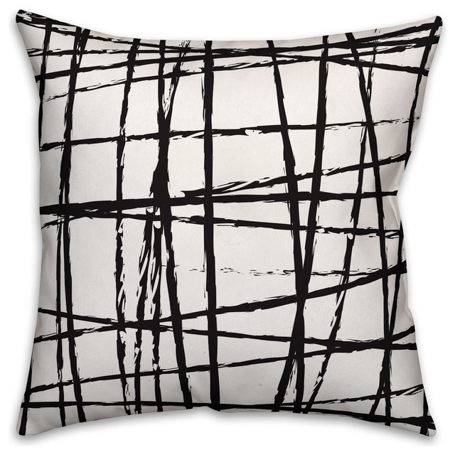 Modern Throw Pillow Patterned Oblong From Cotton Pillows For ...