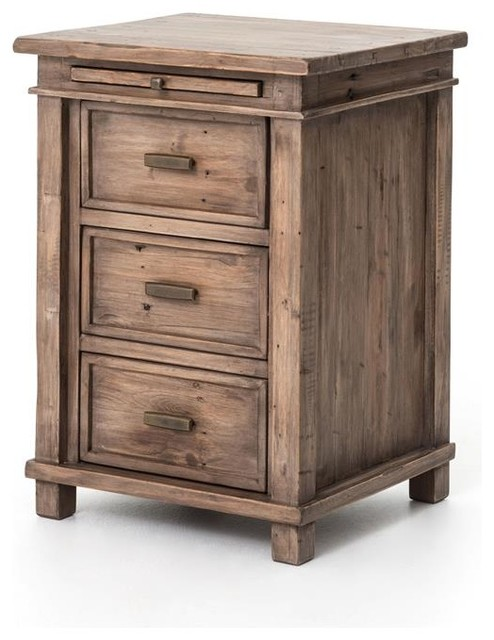 Four Hands Settler Bedroom Collection Traditional Nightstands - Settler bedroom furniture
