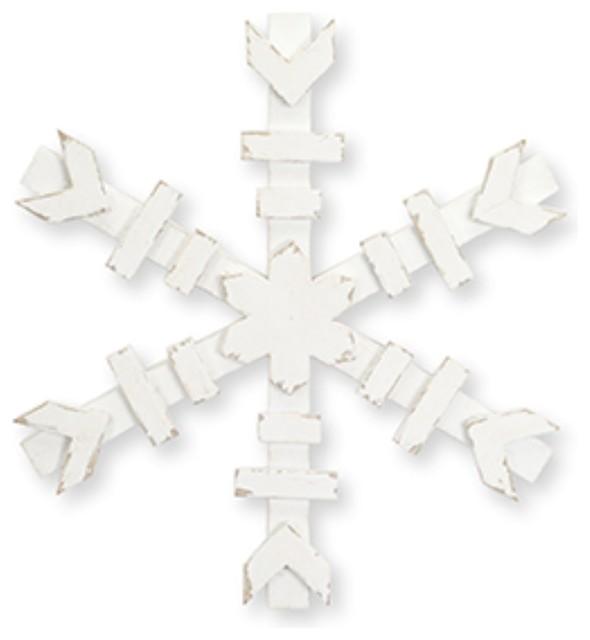 "12"" Snowflake, Set Of 4."
