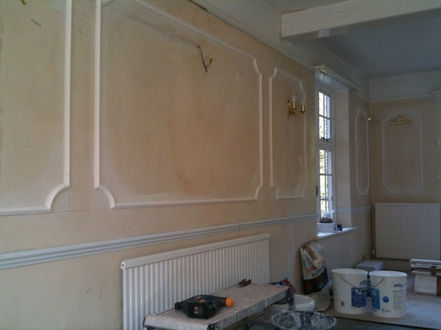 Not just plastering arts-and-crafts