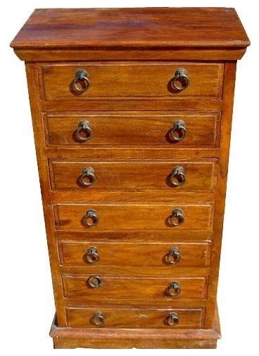 new product f0f3b 0ddd0 Lexington Handmade Solid Wood 7 Drawers Tall Dresser